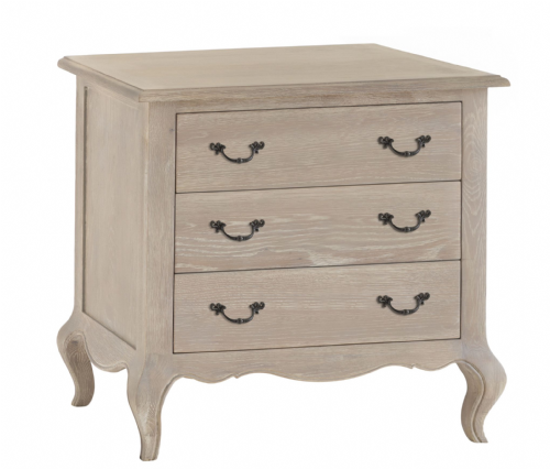 French Château 3 Drawer Chest